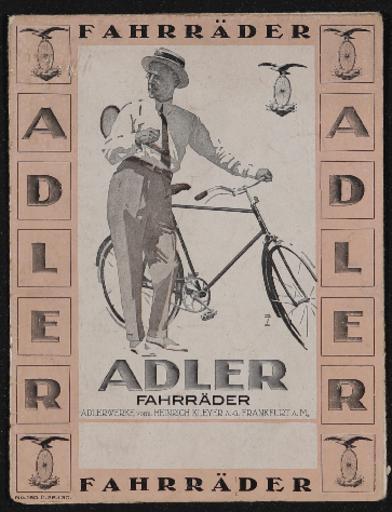 Adler Faltblatt 1926