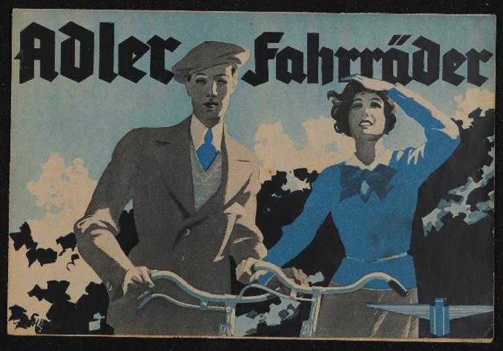 Adler Faltblatt 1934