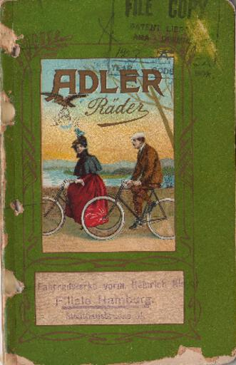 Adler Katalog 1903