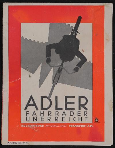 Adler Prospekt 1927