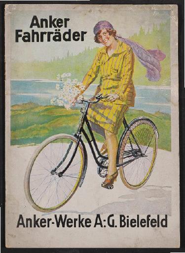 Anker Fahrräder, Katalog, 1927