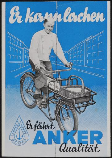 Anker Geschäftsrad Faltblatt 1937