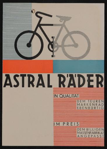 Astral Räder Prospekt 1929