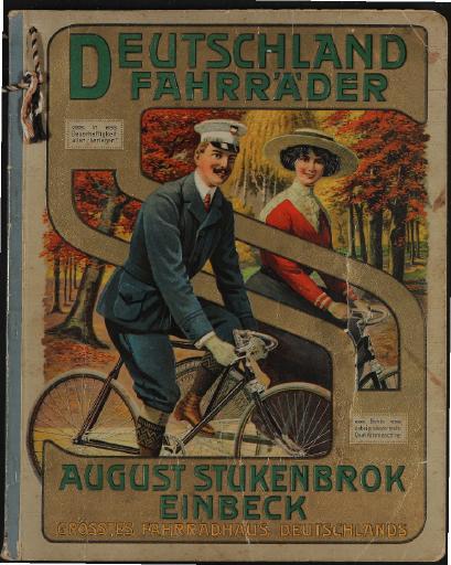 Deutschland Fahrräder, August Stukenbrok Katalog 1913