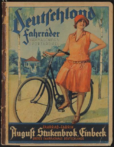Deutschland Fahrräder, August Stukenbrok Katalog 1928