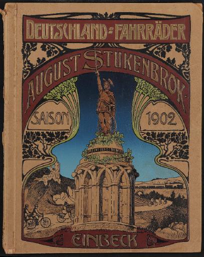 Deutschland-Fahrräder August Stukenbrok Katalog 1902