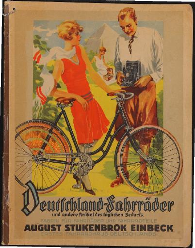 Deutschland-Fahrräder August Stukenbrok Katalog 1930