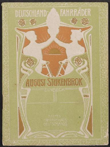Deutschland-Fahrräder August Stukenbrok Prospekt 1904