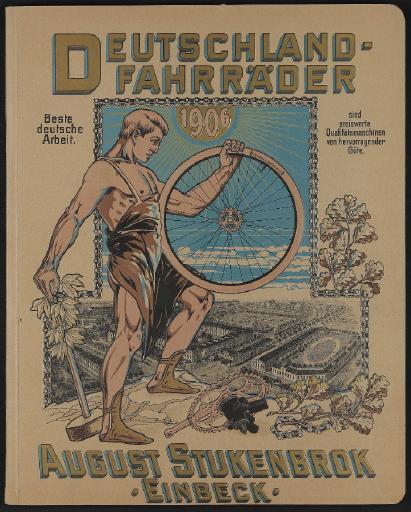 Deutschland-Fahrräder, August Stukenbrok Katalog 1906