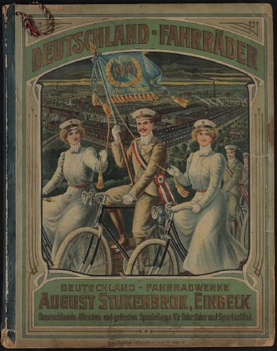 Deutschland-Fahrräder, August Stukenbrok Katalog 1909
