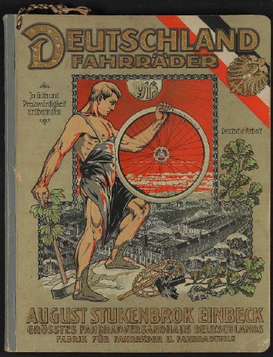 Deutschland-Fahrräder, August Stukenbrok Katalog 1915