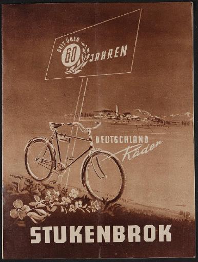 Stukenbrok Deutschland Räder Katalog 1952