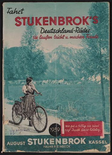 Stukenbrok s Deutschland-Räder Katalog 1939