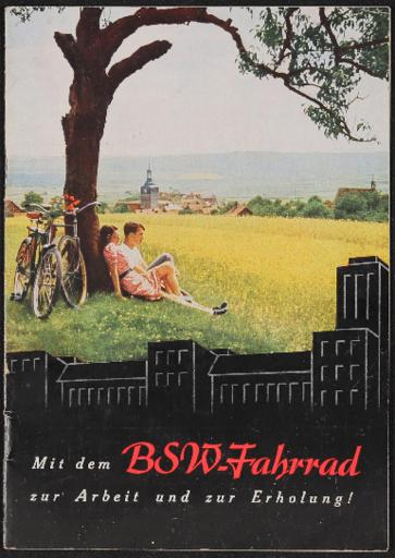 BSW-Fahrrad Katalog 1930er Jahre