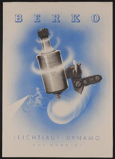 Berko Leichtlauf-Dynamo Prospekt 1935