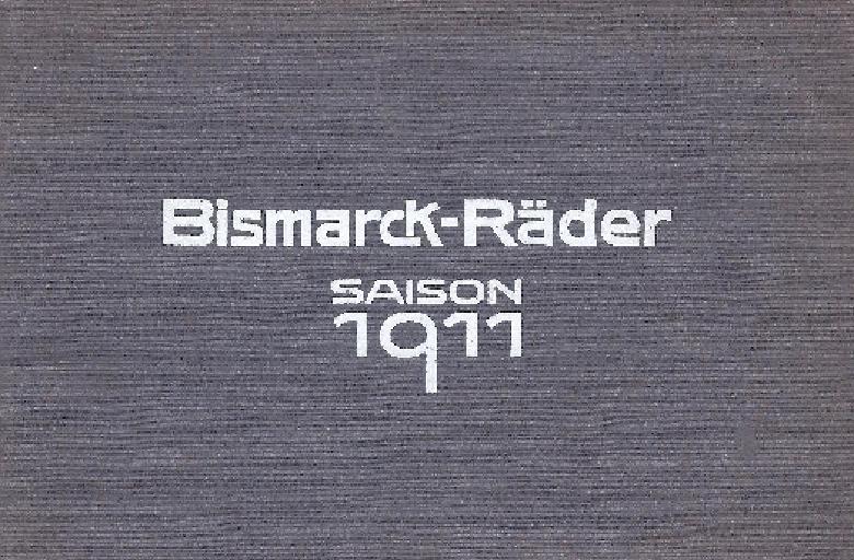 Bismarck Katalog 1911