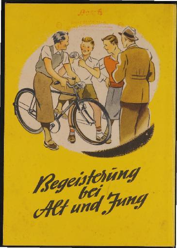 Bosch Radlicht Werbe-Aufsteller für Händler 1950er Jahre