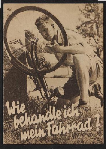 Bosch Radlicht Wie behandle ich mein Fahrrad Heft 1930er Jahre