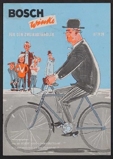 Bosch, Winke für den Zweiradhändler 2, 1959