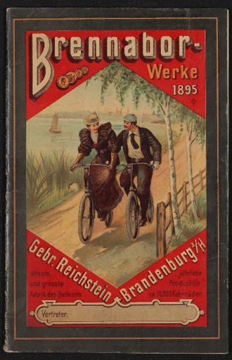 Brennabor Gebr. Reichstein Werke Katalog 1895