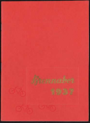 Brennabor Hauptkatalog 1937
