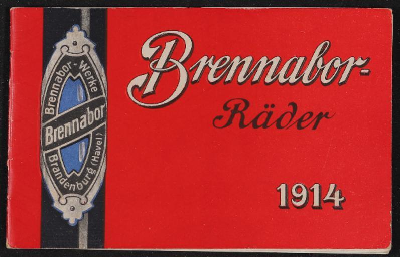 Brennabor Räder Katalog 1914