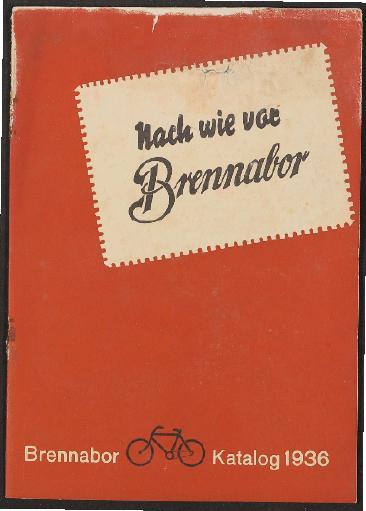 Brennabor, Katalog 1936