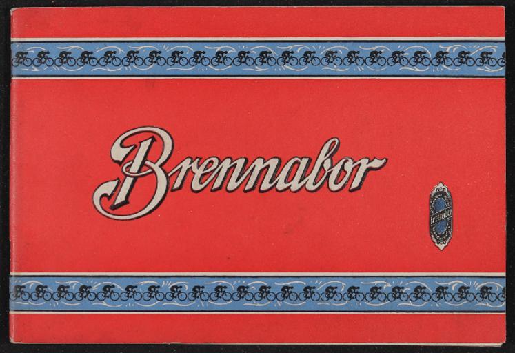Brennabor-Räder Gebr. Reichstein Katalog 1925
