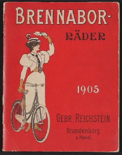Brennabor-Räder, Katalog 1905