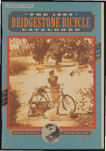 Bridgestone Bicycle (USA) Katalog 1992
