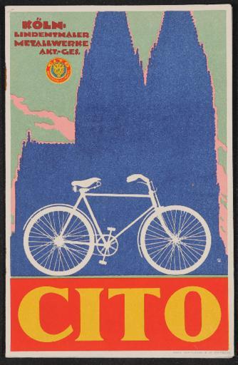 Cito Fahrräder Katalog 1920er Jahre