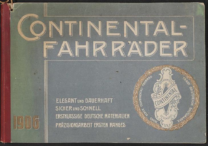Continental Katalog 1906