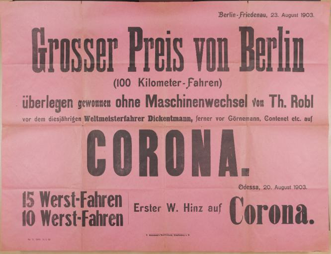 Corona Plakat3 23.8.1903
