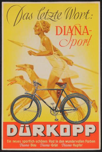 Dürkopp  Diana-Sport Werbeblatt 1937