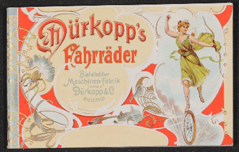 Dürkopp Fahrräder Katalog 1900