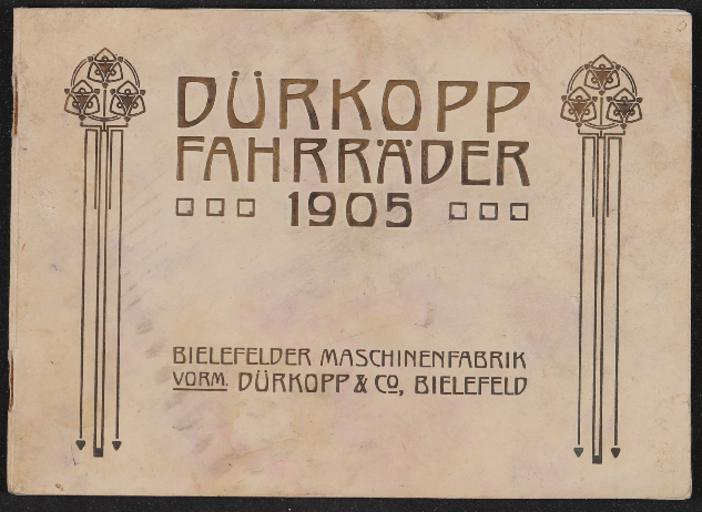 Dürkopp Fahrräder Katalog 1905