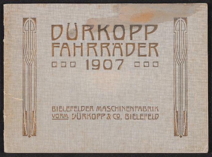 Dürkopp Fahrräder Katalog 1907