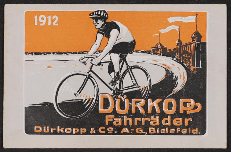 Dürkopp Fahrräder Katalog 1912