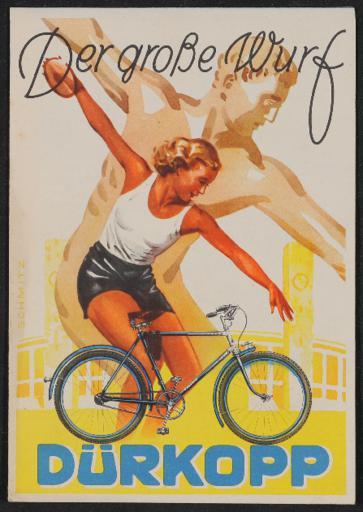 Dürkopp Faltblatt 1937