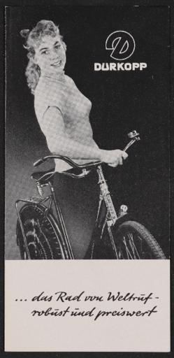 Dürkopp Faltblatt 1960er Jahre