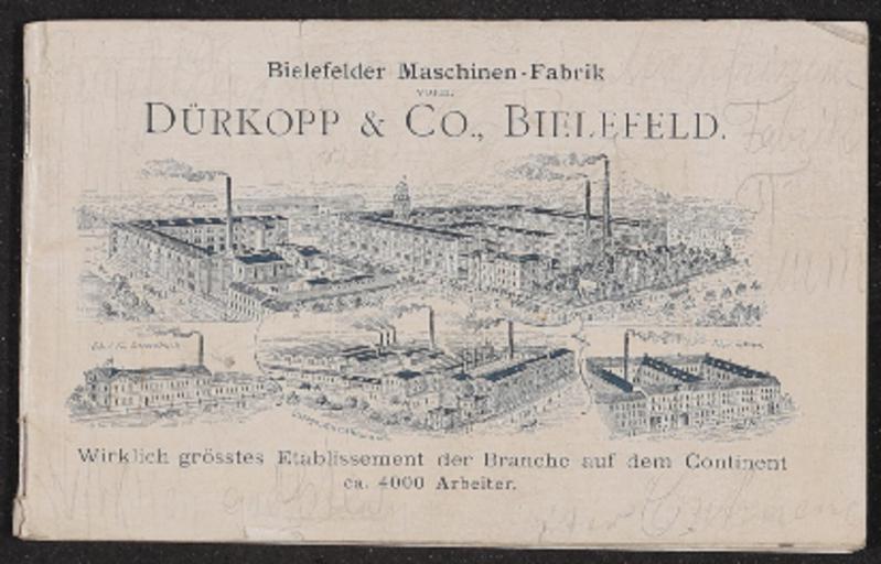 Dürkopp Katalog 1901