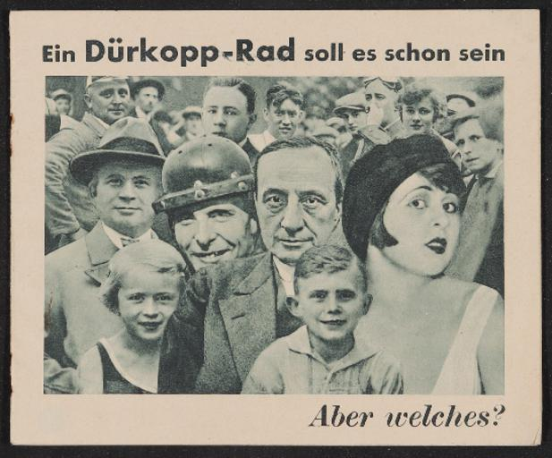 Dürkopp Katalog 1931