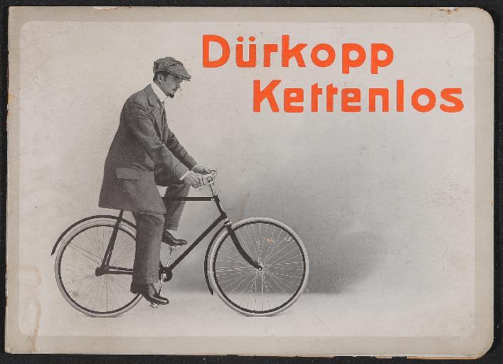 Dürkopp Kettenlos Katalog 1910er Jahre