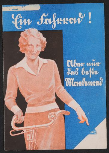 Dürkopp Markenrad Warum ein Dürkopp Rad Faltblatt 1930er Jahre