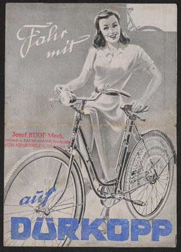 Dürkopp Prospekt 1947