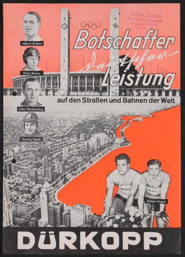 Dürkopp Werbeblatt 1937