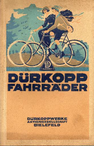 Dürkopp Katalog 1920