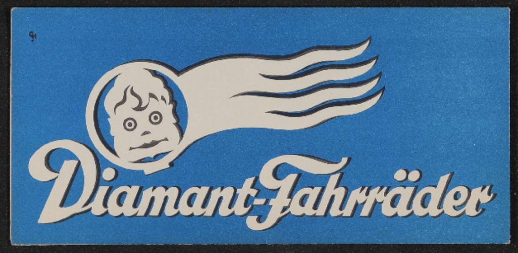 Diamant Fahrräder Faltblatt 1930er Jahre