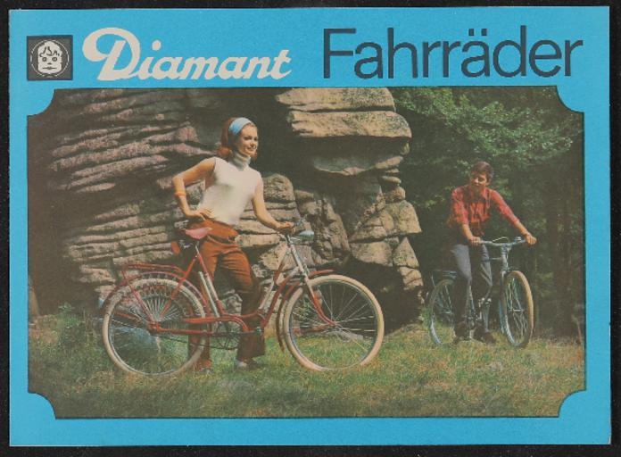Diamant Fahrräder Prospekt 1968