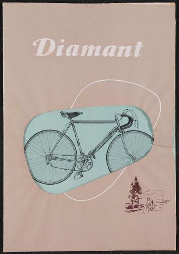 Diamant Fahrräder Rennräder Prospekt 1954